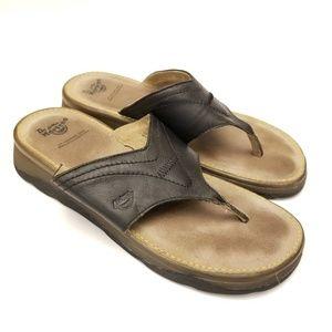 Dr Martens Flip Flops Sandals 8 Leather Thongs